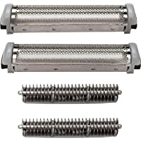 Shaver Head Replacement Foil&Cutter Replacement for Remington SP67/SP-69 Microscreen 2 TCT Shavers By 4G-Kitty.