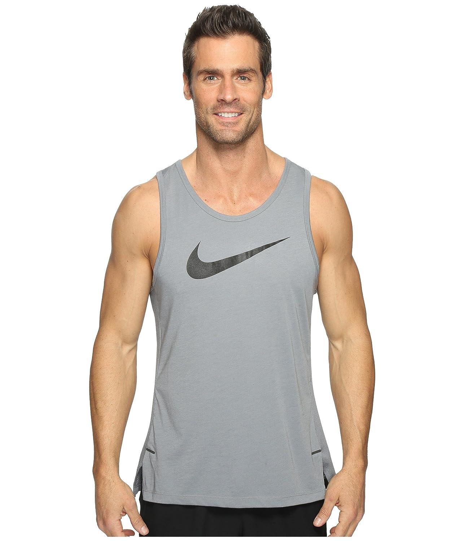 [ナイキ] Nike メンズ Dry Elite Basketball Tank トップス [並行輸入品] B01NB0Y14X Medium Cool Grey/Cool Grey/Cool Grey/Black Cool Grey/Cool Grey/Cool Grey/Black Medium
