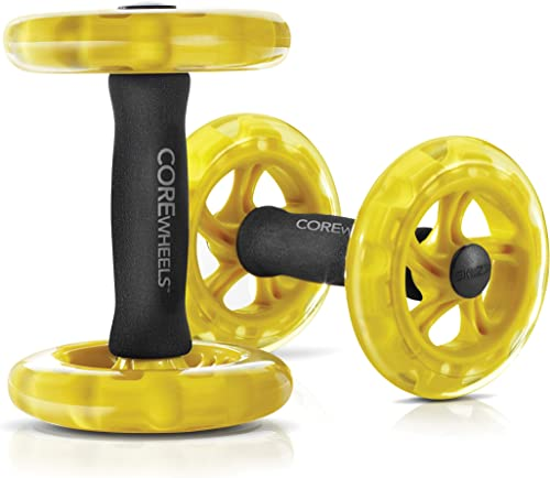 SKLZ Core Wheels Dynamic Strength and Ab Trainer Roller, Set of 2