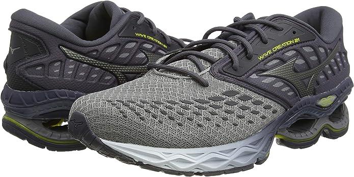 Mizuno Wave Creation 21, Zapatillas de Running para Hombre: Amazon.es: Zapatos y complementos