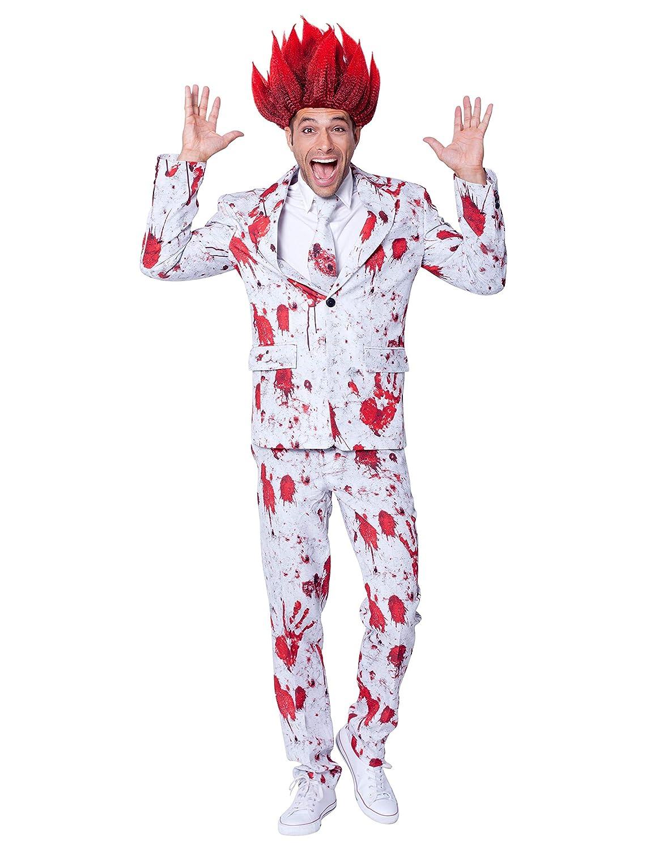 Anzug Halloween Blut 3-tlg. 56