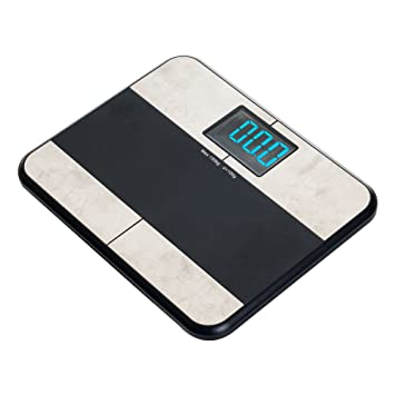 Remedy Bluetooth BMI Digital Bathroom Scale with iPhone App. Amazon com  Remedy Bluetooth BMI Digital Bathroom Scale with