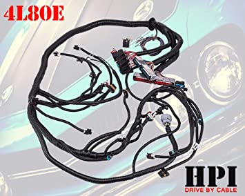 Amazon.com: HPI 97-06 LS1 STANDALONE WIRE HARNESS 4.8 5.3 6.0 VORTEC w/60A  RELAY (DRIVE BY CABLE) (RED/BLUE PCM) & EV1 FUEL INJECTOR CONNECTORS (4L80E  DBC): Automotive   Vortec Wiring Harness      Amazon.com
