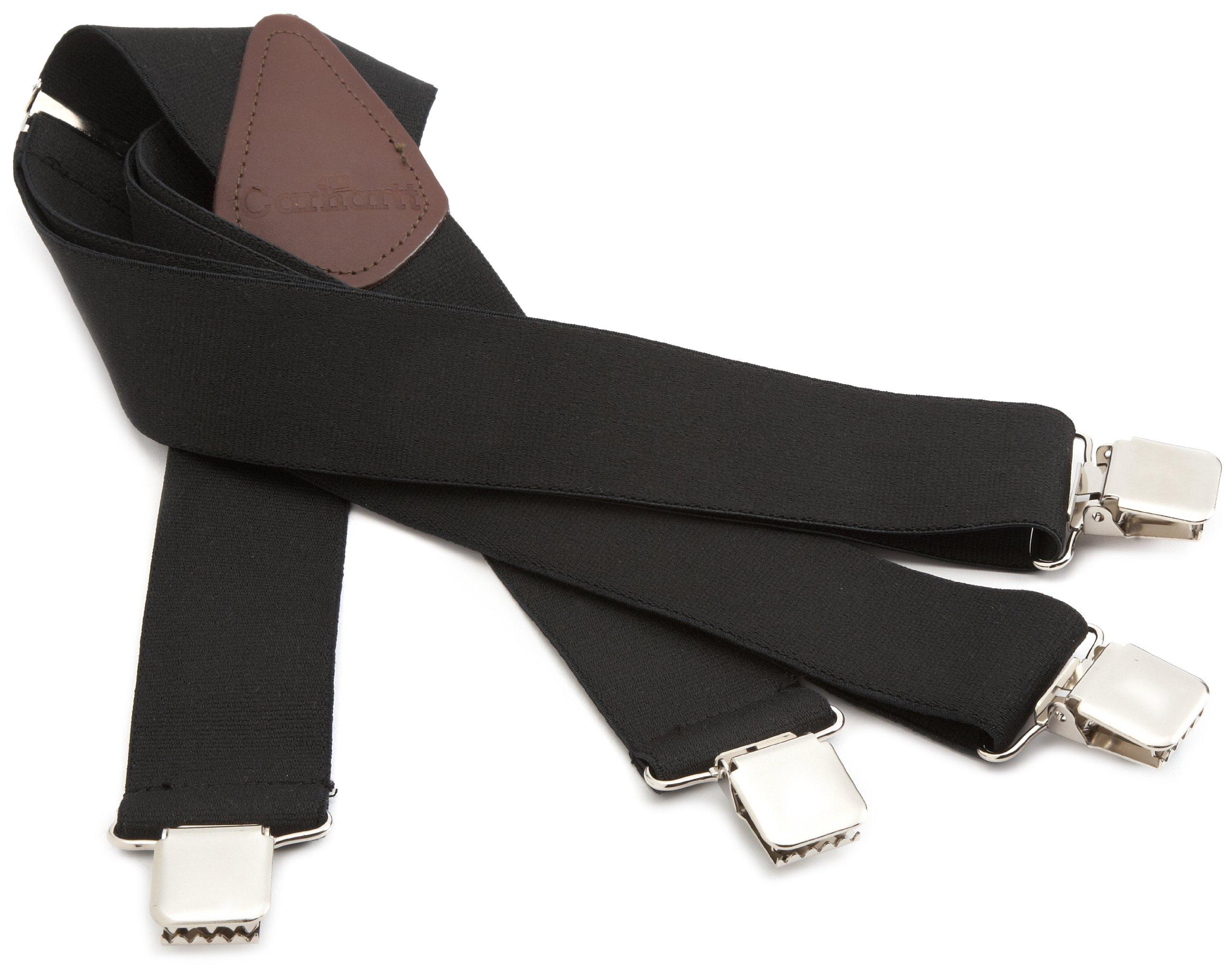 Carhartt Men's Utility Suspender,Black,One Size