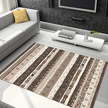 Tapiso Tapis De Salon Moderne Collection Sari - Couleur ...