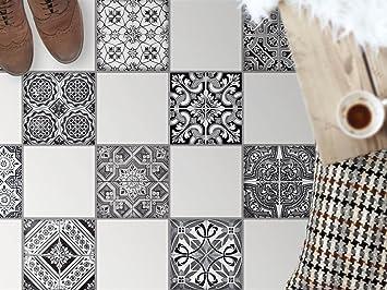 bodenfliesen spiegel dekorationssticker fliesen sticker aufkleber folie selbstklebend bad renovieren kche bad ideen - Kuche Renovieren Folie