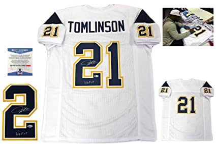 61006114e14 Image Unavailable. Image not available for. Color  LaDainian Tomlinson  Autographed SIGNED Jersey - Beckett Authentic ...