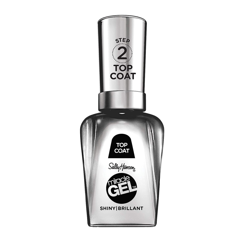 Sally Hansen Miracle Gel Nail Polish, Shiny Top Coat, 0.5 fl oz