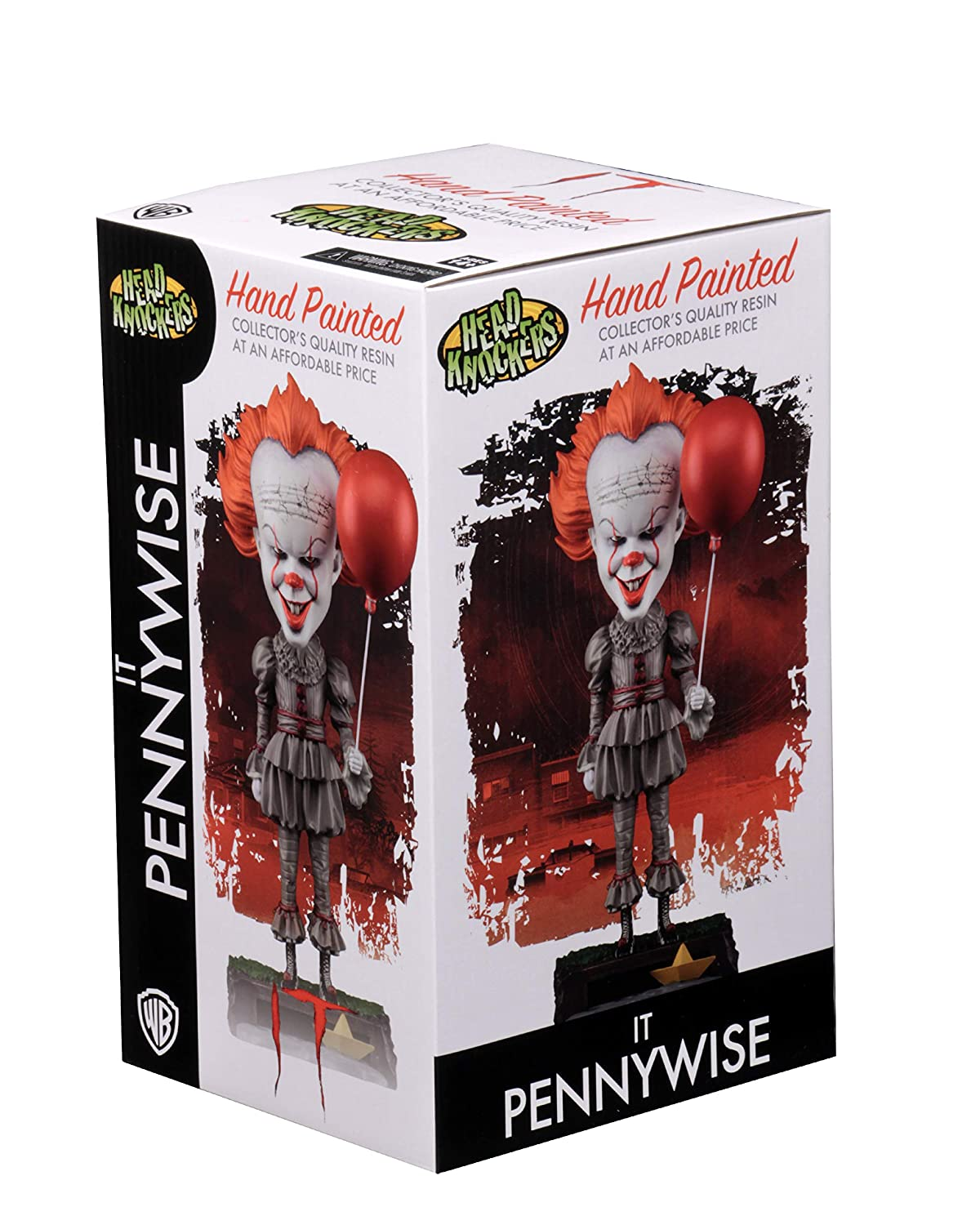 NECA Pennywise Cabezon headknocker Figura 20/ cm IT 2017/ Movie Colore nec0nc45463/