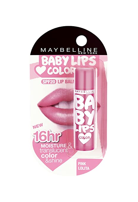 Maybelline Baby Lips Pink Lolita 4g