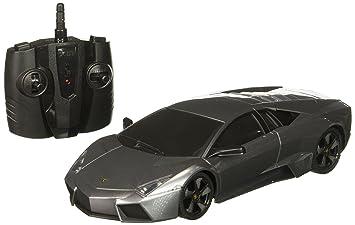 Amazon Com Remote Control Lamborghini Reventon 1 18 Scale Rc Toys