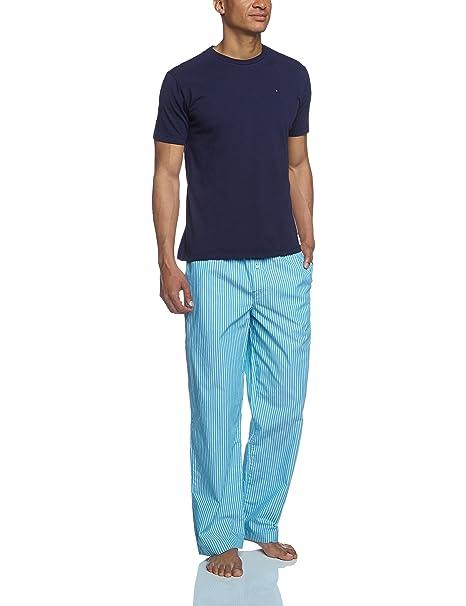 Tommy Hilfiger Hanson - Pijama de dos piezas para hombre, color blau (peacoat-