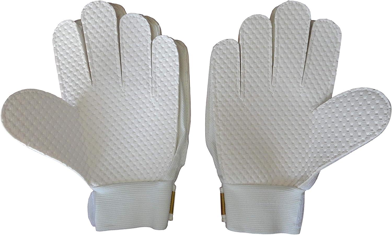 JG Soccer Goalkeeper Gloves for Kids Real Madrid