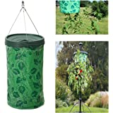 Upside Down Tomato Planter, Pathonor Upside Down Hanging Round Planter System for Raw Fruit and Vegetables