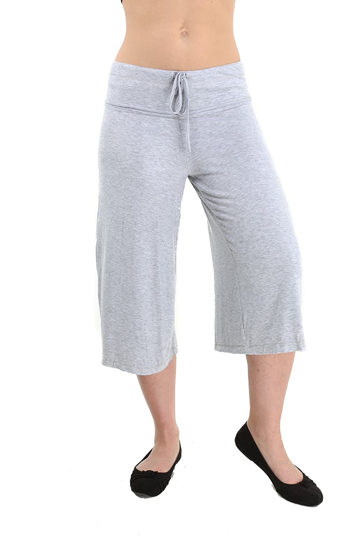24/7 Comfort Apparel Women's Draw String Knee-Length Pant CF516