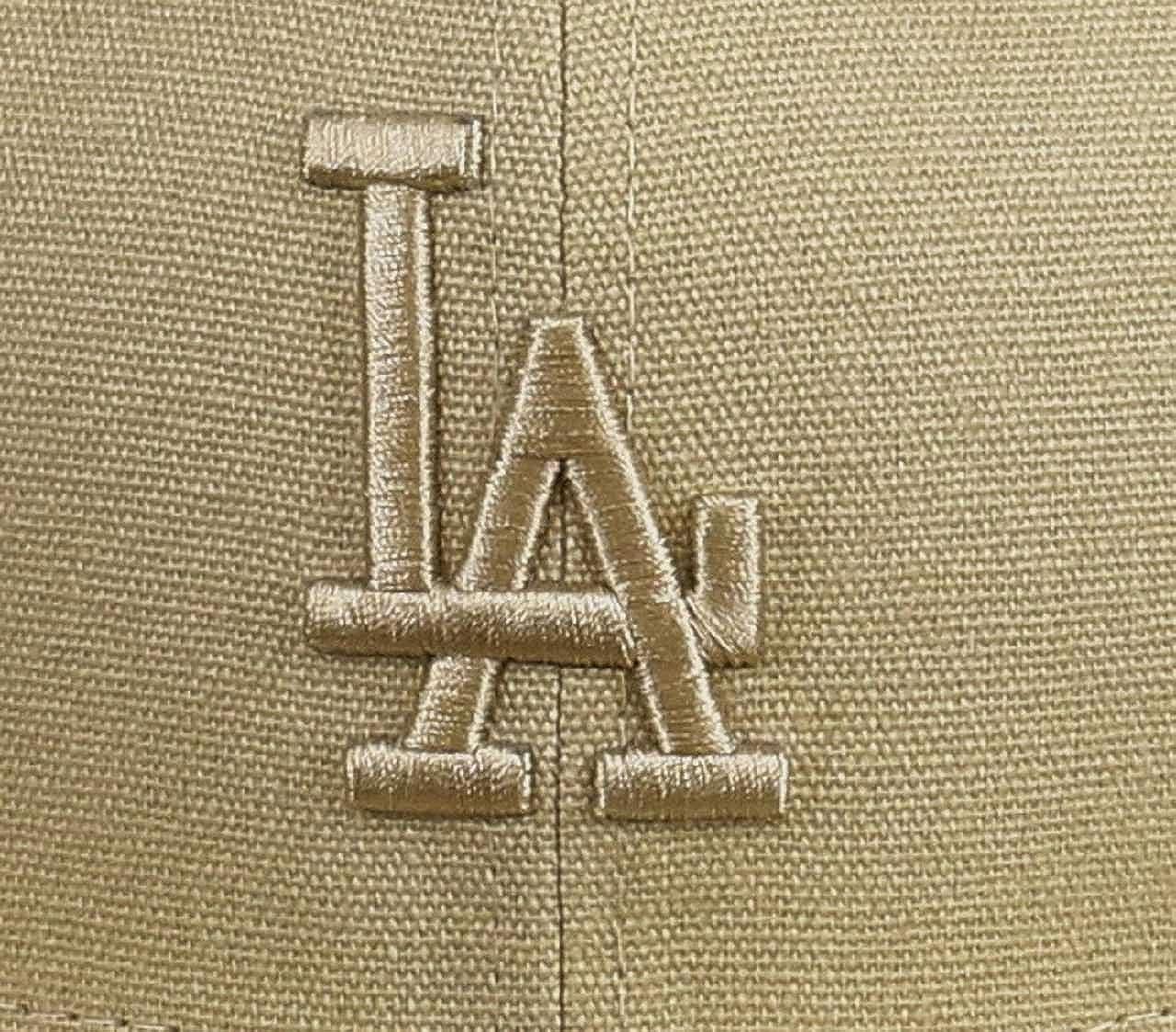 /Casquette Ligne Los Angeles Dodgers Mixte Adulte Canvas New Era 9/Fifty Losdod/