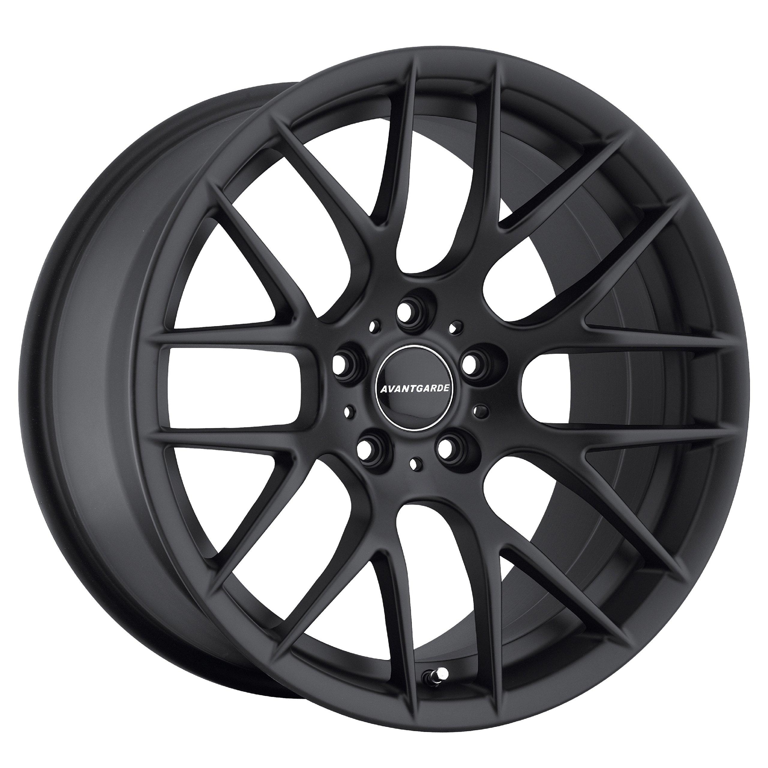 Avant Garde M359 Matte Black Size 19x9 Bolt Pattern 5x120 M359-MB520199018
