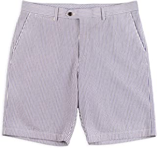 product image for Haspel Seersucker Shorts - Tulane Classic Blue
