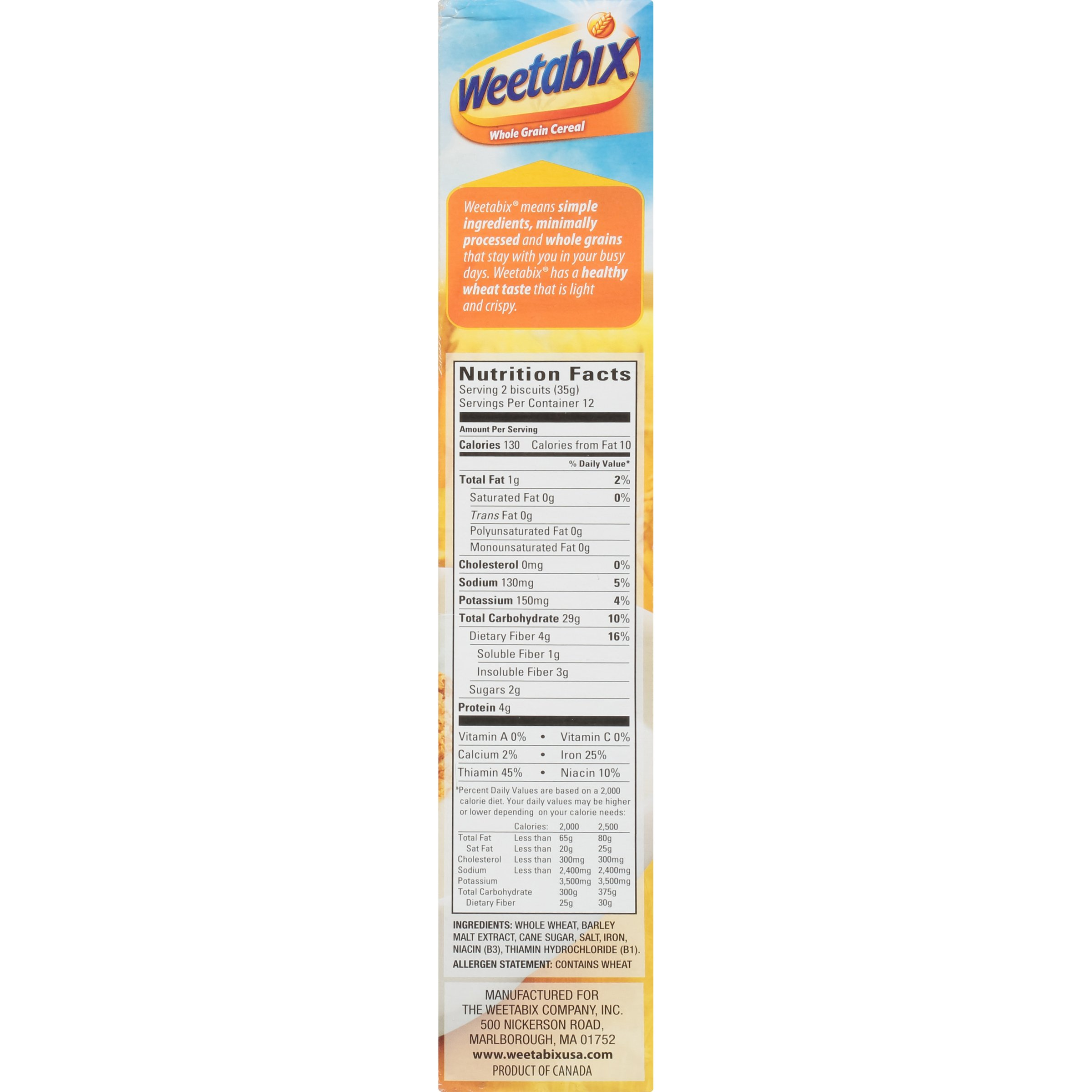 Weetabix Whole Grain Cereal, 14 Ounce (Pack of 6) by Weetabix (Image #11)