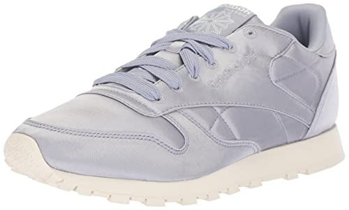 db1e55ca9a5 Reebok Women s Cl Lthr Satin Sneaker  Amazon.co.uk  Shoes   Bags