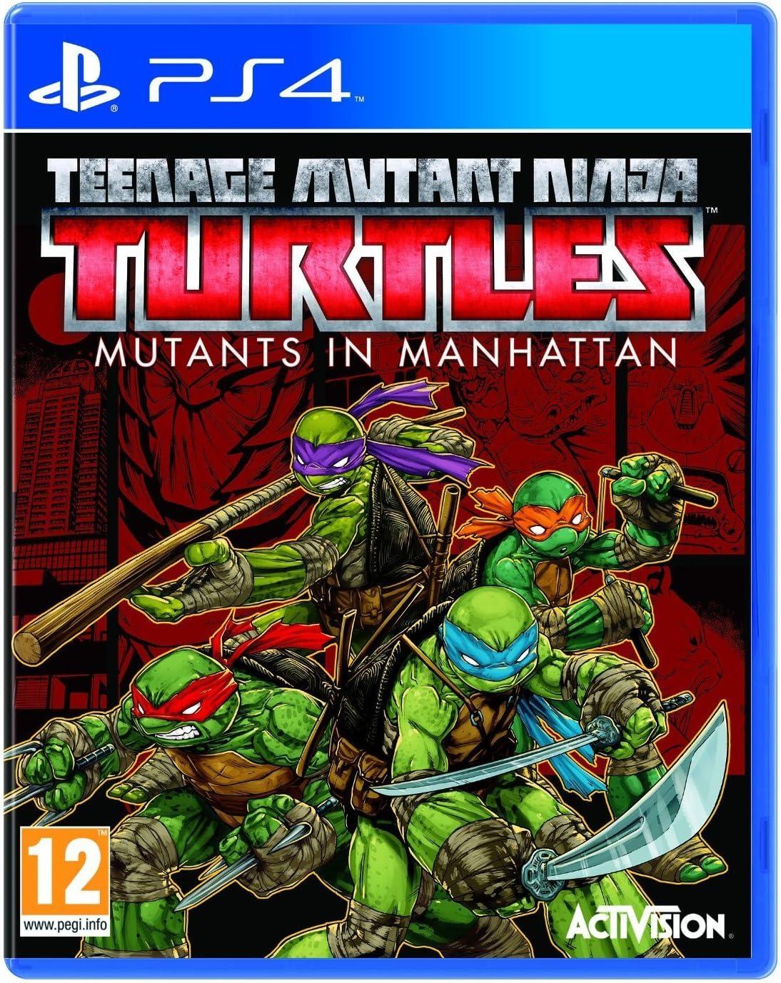 Amazon.com: Teenage Mutant Ninja Turtles: Mutants in Manhattan (PS4): Video Games