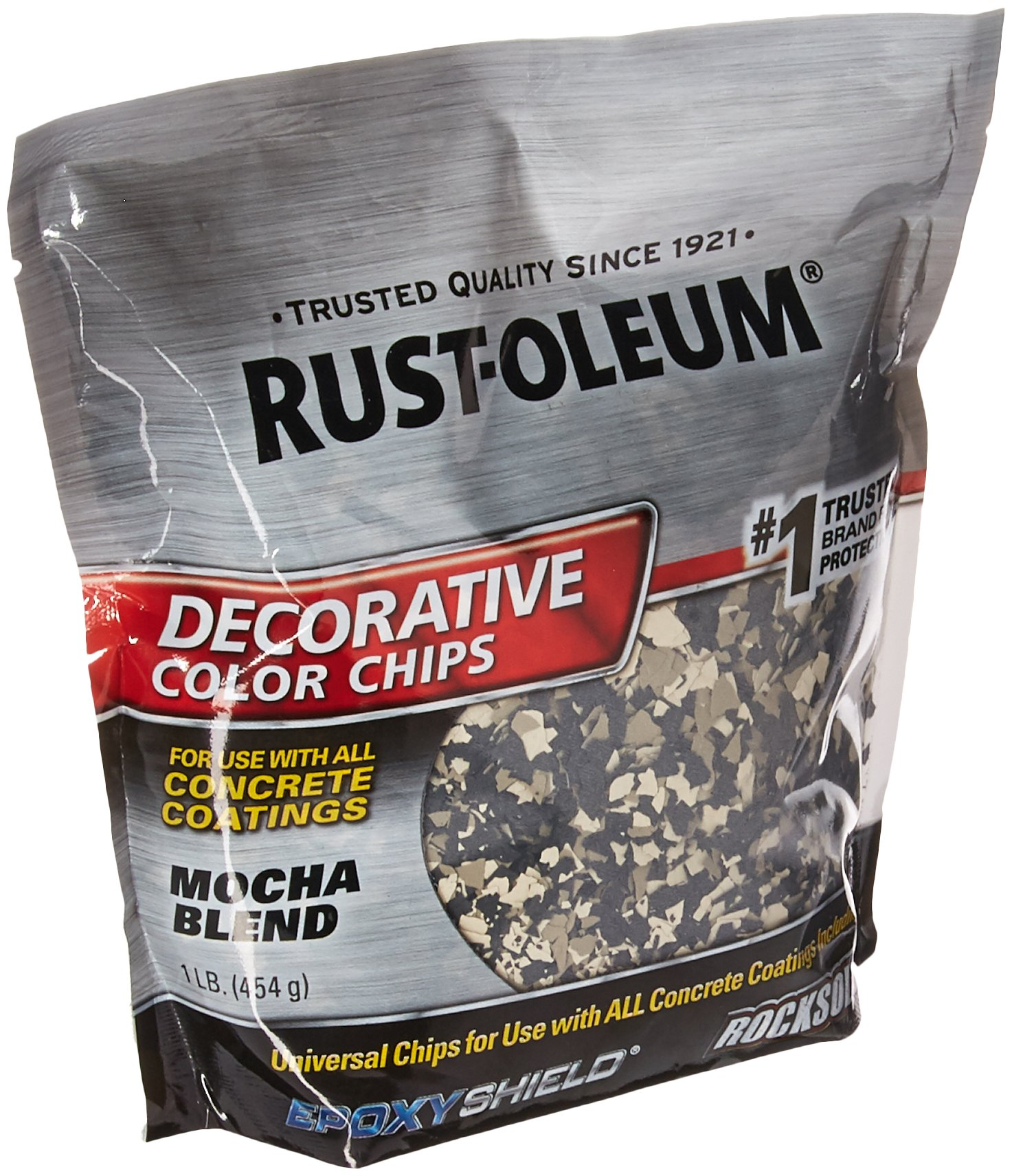 Rust-Oleum 301238 Decorative Color Chips, Mocha Blend