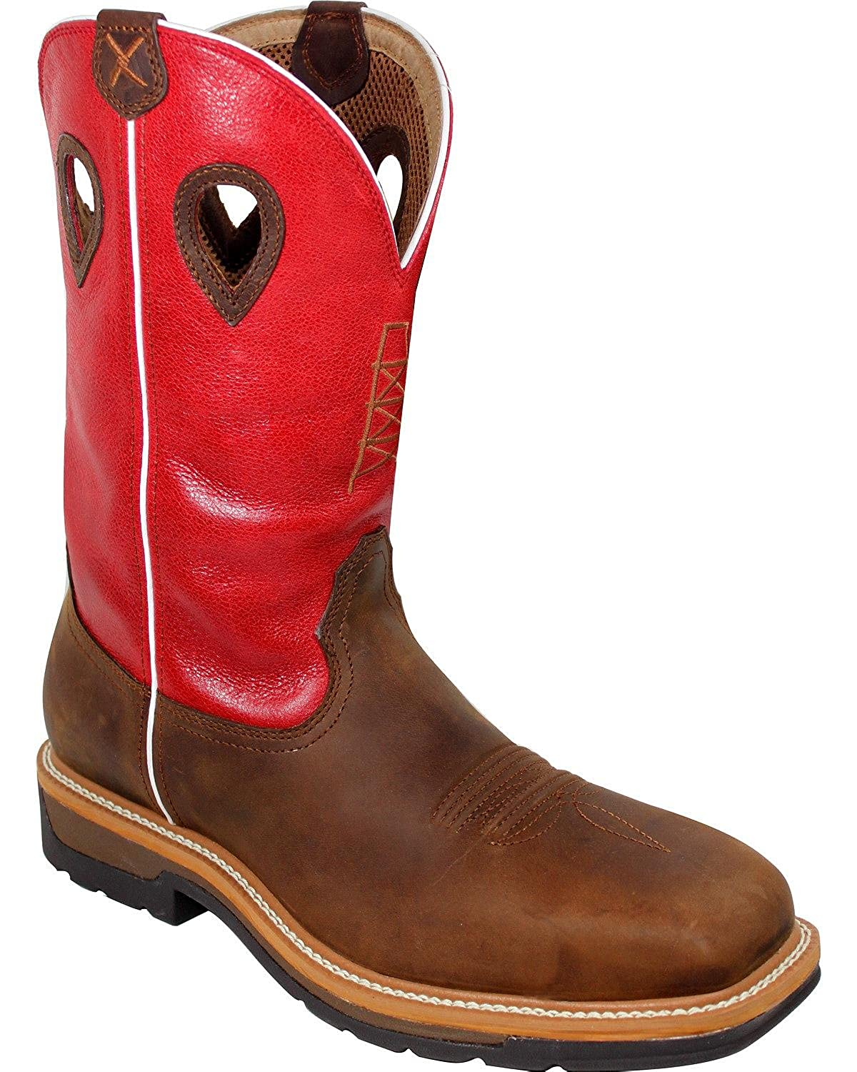 8ca73e94158 Twisted X Men's Waterproof Lite Cowboy Work Boot Composite Safety Toe