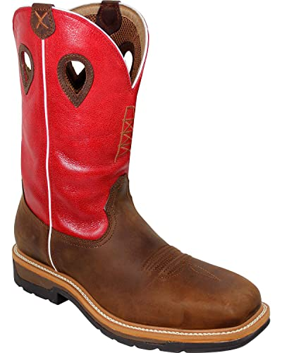 896adbe124a Twisted X Men's Waterproof Lite Cowboy Work Boot Composite Safety Toe