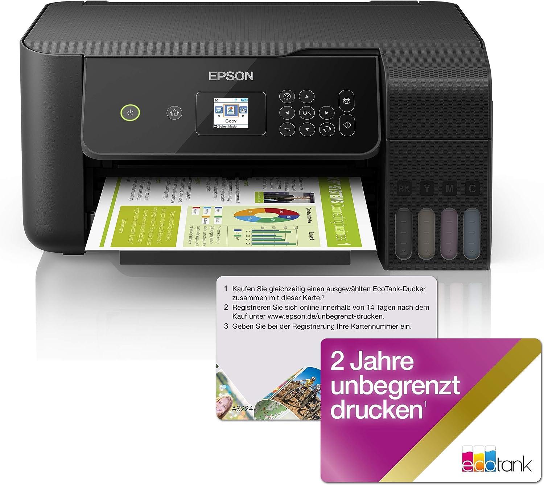 Epson EcoTank ET-2720 - Impresora multifunción 3 en 1 (Impresora ...