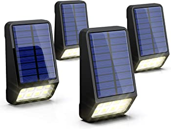 4-Pack Lohas Daylight Waterproof Automatically on/off Solar LED Lights