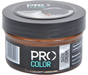 Pro Color Shoe Cream Light Brown