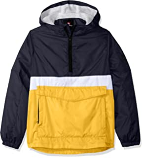 43dbdc9166 Southpole Boys Anorak Colorblock Water Resistance Hooded Pullover