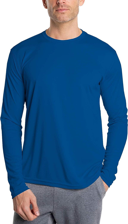 Vapor Apparel Camiseta de Manga Larga con protecci/ón Solar contra Rayos UV Factor 50+ para Hombre