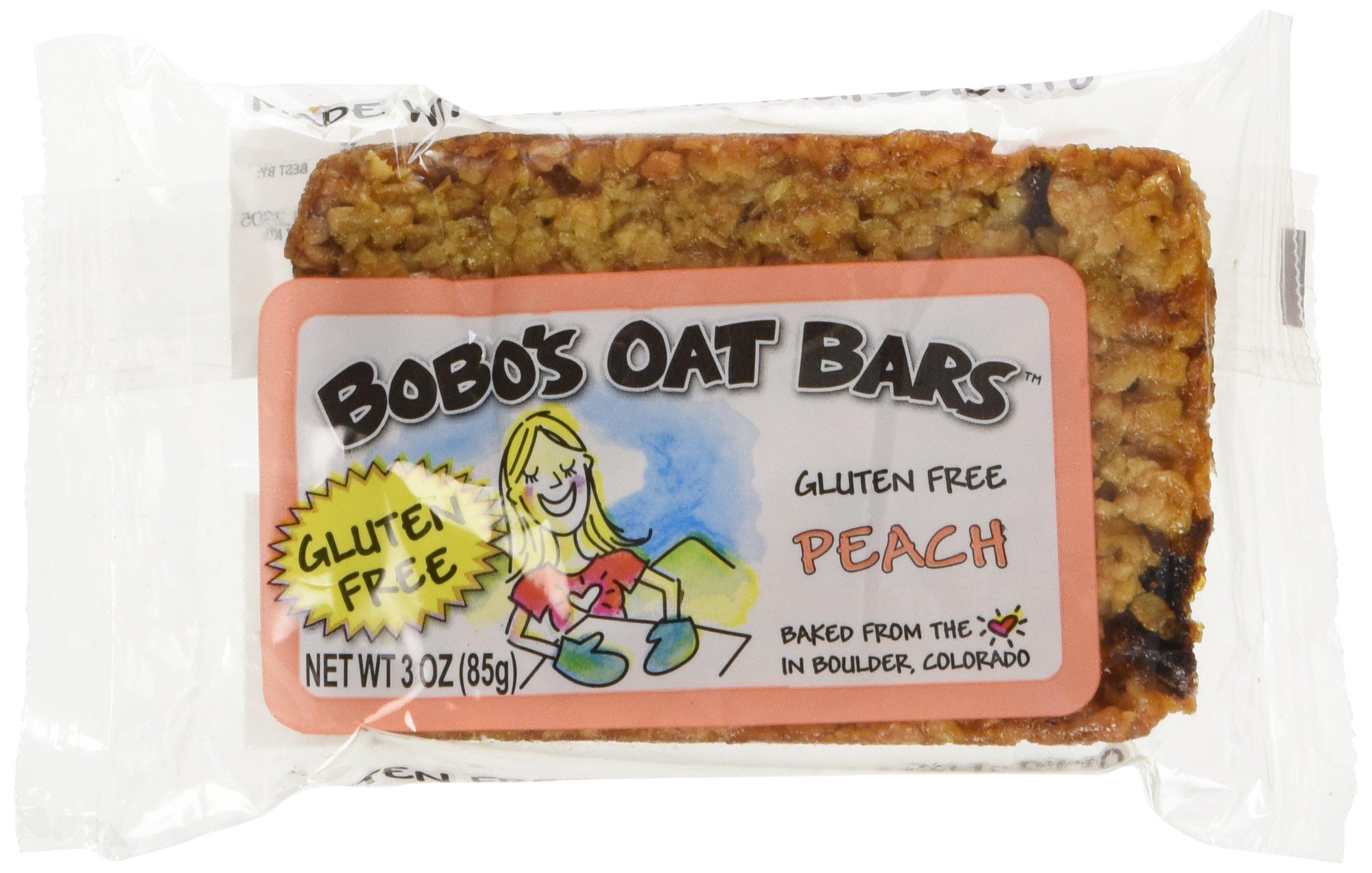 Bobo's Peach Gluten Free Oat Bars (12x3oz)