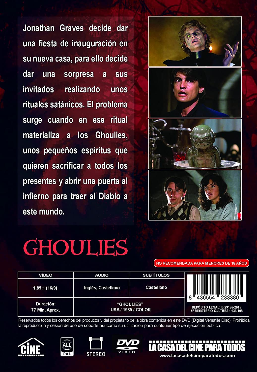 Michael Des Barres Ghoulies