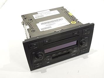 Cambio de estéreo Symphony para cassette, CD y radio, para Audi A4 B6: Amazon.es: Coche y moto
