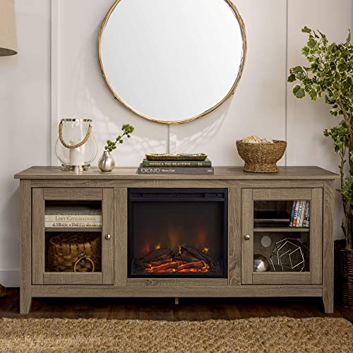 Fireplace Tv Stand 58 Inch Wide