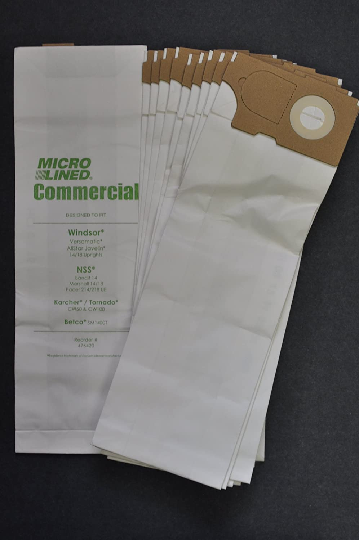 Amazon.com: Windsor versamatic Upright Vacuum bolsas de ...