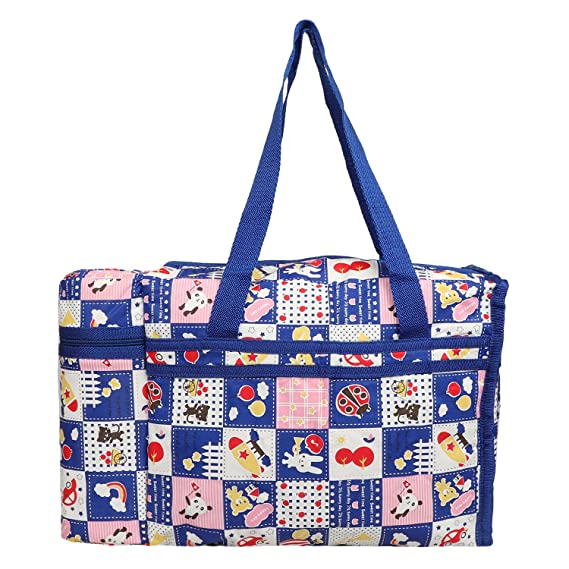 Cutieco Multipurpose Diaper Bag, Blue