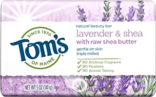 product image for Tom's of Maine, Natural Bar Soap - Lavender & Shea with Raw Shea Butter, 5 Ounce
