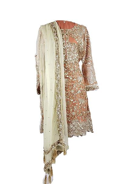 Amazon.com: IshDeena Pakistani vestidos de fiesta para mujer ...