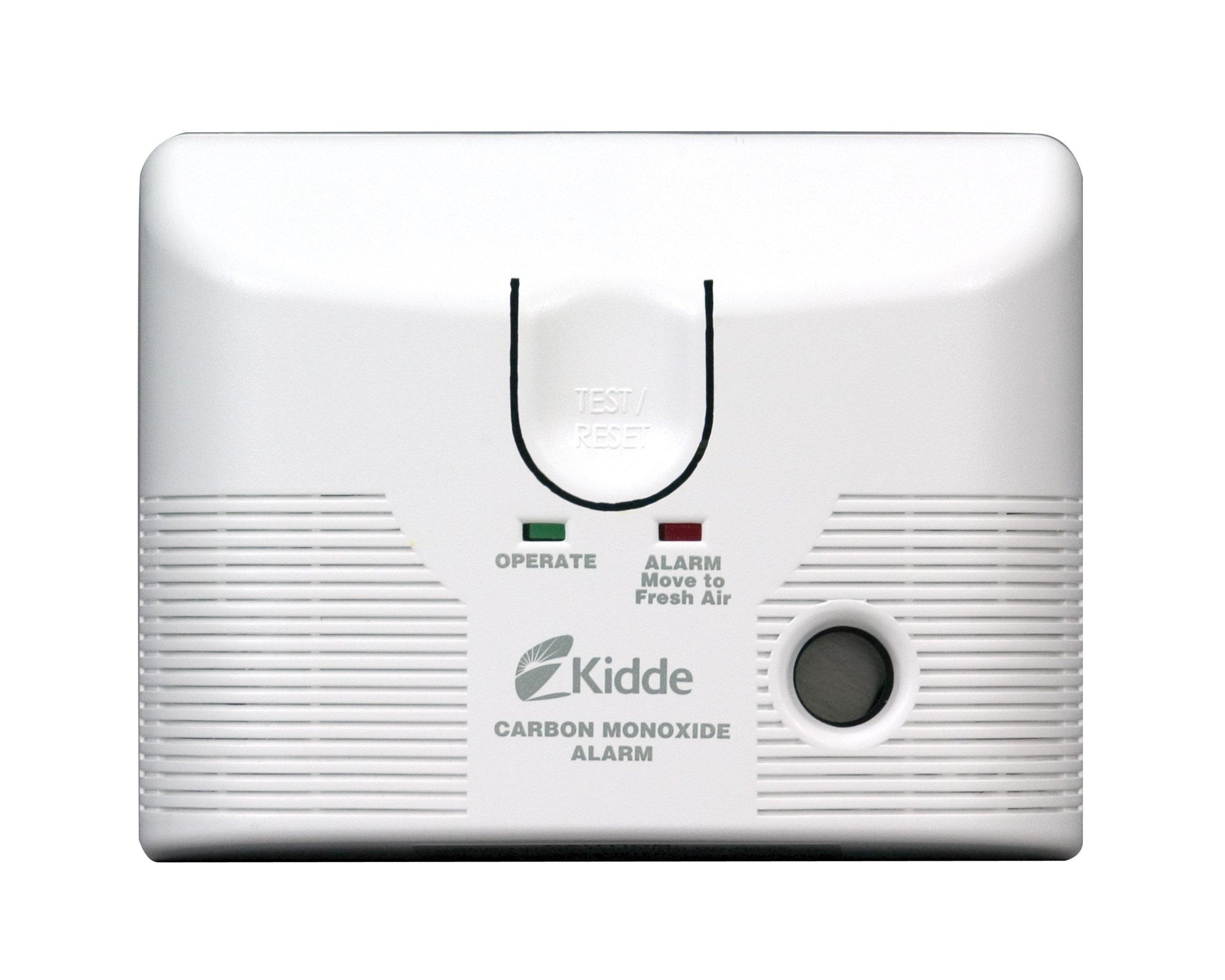 Kidde KN-COB-LCB-A Tamper Resistant Plug-In Carbon Monoxide Alarm with Battery Backup