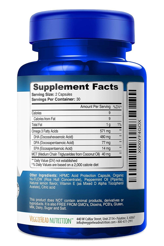 43b0c174fbcb Amazon.com  Vegan Omega 3 - Better Than Fish Oil! Plant Based