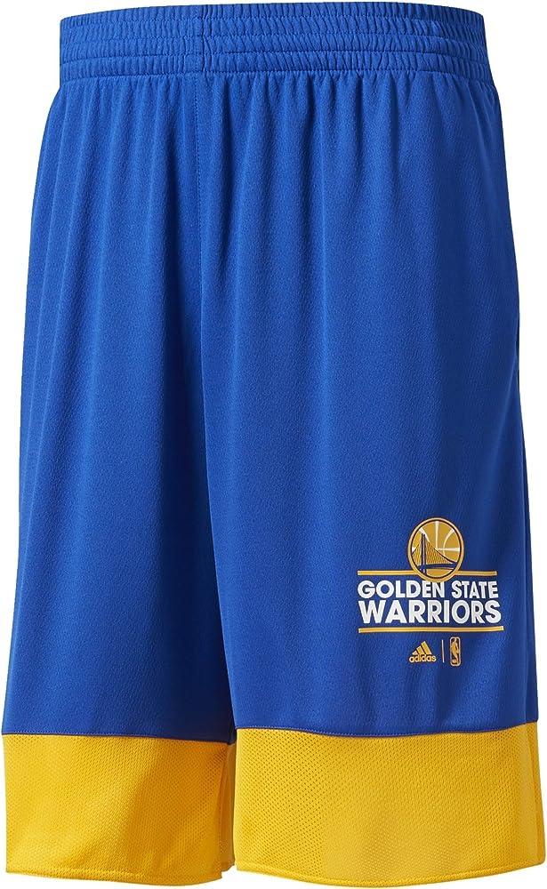 adidas B45416 Pantalón Corto Golden State Warriors de Baloncesto ...