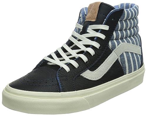 66998205b5 VANS - SK8 Hi 46 CA - stripes dress blues