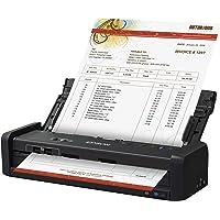 Epson Workforce Wireless Color Portable Document Scanner Escáner de Cama Plana, Edición Contabilidad/Recibo, Negro