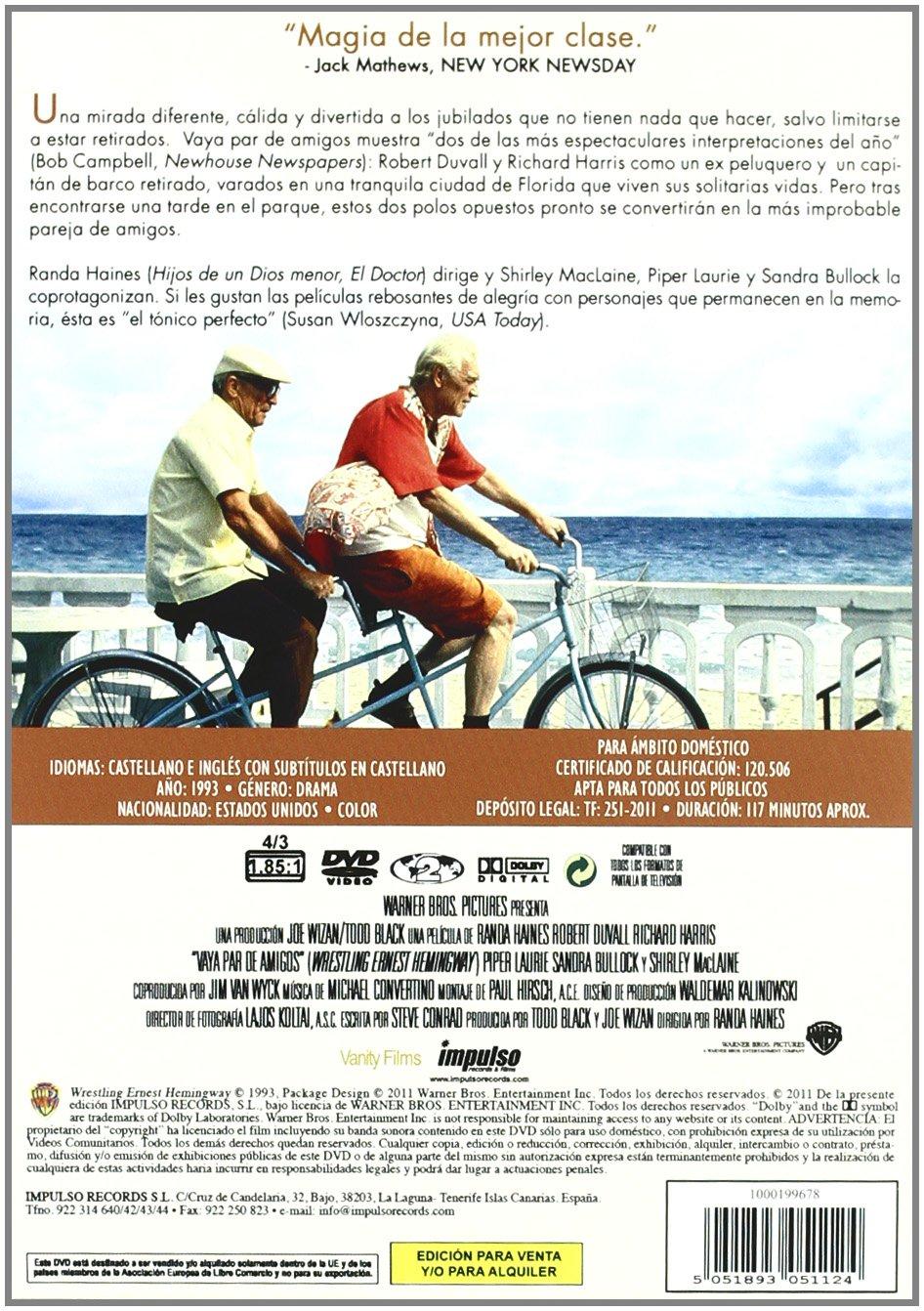 Vaya par de amigos [DVD]: Amazon.es: Robert Duvall, Richard ...