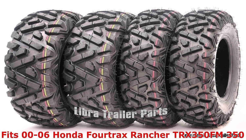 ATV & UTV Set 4 ATV tires 24x8-12 & 24x9-11 00-06 Honda Fourtrax ...