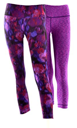 1416fb0aaee1f Active Life Reversible Active Leggings (Small, Fuschia Space Dye) at Amazon  Women's Clothing store: