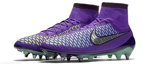 hot sale online 18e75 d9715 Nike Magista Obra SG-PRO, Scarpe da Calcio Uomo, ViolaArgento-